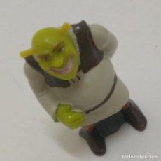 Figuras de Borracha e PVC: FIGURA SHREK SREK DISNEY KINDER FIGURAS DREAMWORKS FERRERO ASNO BURRO MUÑECO. Lote 266248128