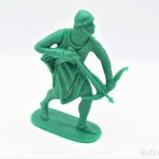 Figure di Gomma e PVC: ANTIGUA FIGURA EN PLÁSTICO. SERIE CRUZADOS DE JECSAN. AÑOS 70.. Lote 266375853