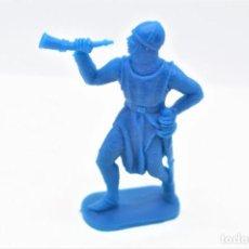 Figuras de Borracha e PVC: ANTIGUA FIGURA EN PLÁSTICO. SERIE CRUZADOS DE JECSAN. AÑOS 70.. Lote 266375923