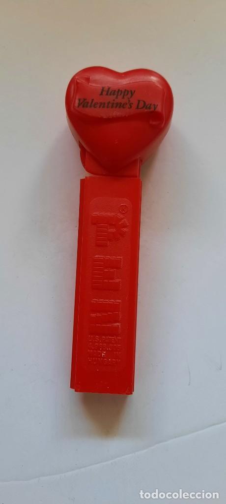 CARAMELOS PEZ 1996 DIA DE SAN VALENTIN ESTADOS UNIDOS. MUY RARO (Juguetes - Figuras de Gomas y Pvc - Dispensador Pez)
