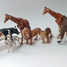 Figuras de Goma y PVC: LOTE ANIMALES SCHLEICH. Lote 266383383