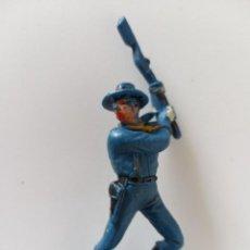 Figuras de Goma y PVC: FIGURA JECSAN SOLDADO FEDERAL. Lote 266599833