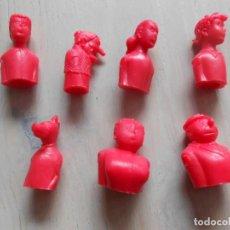 Figuras de Goma y PVC: LOTE 7 FIGURAS DE LA FAMILIA ULISES TIPO DUNKIN PREMIUM FIGURES FIGURA COMIC TEBEO. Lote 262801980