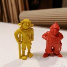 Figuras de Borracha e PVC: LOTE FIGURAS DUNKIN PIRATA AL EPACHA Y EL JOROBADO - TITO. Lote 266770949