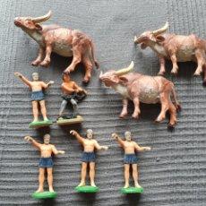 Figuras de Borracha e PVC: FIGURAS REAMSA PECH JECSAN LAFREDO. Lote 267088349