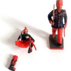 Figuras de Goma y PVC: SOLDADOS INFANTERIA DEL REY GOMARSA SOLDIS REAMSA GUARDIA REAL ALFONSO XIII. Lote 267253374
