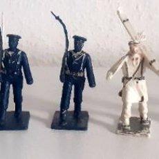 Figuras de Goma y PVC: SOLDADOS DESFILE MILITAR TROPA MONTAÑA REAMSA 7 FIGURAS. Lote 267254294