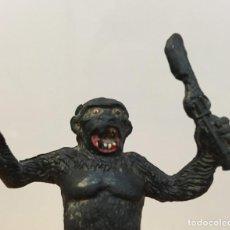 Figuras de Goma y PVC: FIGURA DE GOMA DURA DE ALCA CAPELL - GORILA CON FUSIL. Lote 267288939