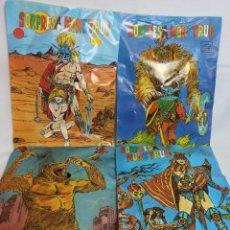Figuras de Goma y PVC: SOBRES SORPRESA DE ANTIGUOS MONSTRUOS,EXCLUSIVAS LEO. Lote 267328004