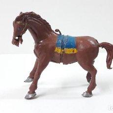 Figuras de Goma y PVC: CABALLO . REALIZADO POR ESTEREOPLAST . ORIGINAL AÑOS 60. Lote 267336009