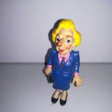 Figuras de Goma y PVC: COMICS SPAIN FIGURA DE PVC AÑOS 80 MARGARET TATCHER. Lote 267411354