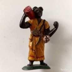 Figuras de Goma y PVC: FIGURA PORTEADOR SAFARI TARZÁN MAIRZA. Lote 267497509