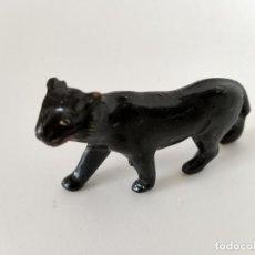 Figuras de Goma y PVC: FIGURA PANTERA NEGRA AÑOS 50 SOTORRES. Lote 267498159