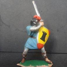 Figuras de Borracha e PVC: REAMSA REY ARTURO-RICARDO CORAZON MEDIEVAL REF 183. Lote 267507039