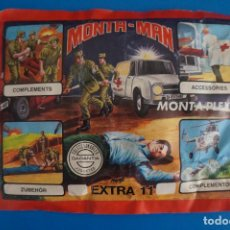 Figuras de Goma y PVC: SOBRE LLENO DE MONTA MAN MONTAPLEX CRUZ ROJA MIRAR FOTOS LOTE 2. Lote 267615169