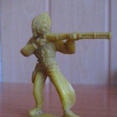 Figuras de Goma y PVC: FIGURA ANTIGUA VAQUERO OESTE , PIPERO ( PECH , JECSAN , REAMSA , COMANSI , ETC). Lote 267616934