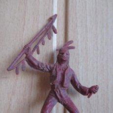 Figuras de Goma y PVC: FIGURA ANTIGUA INDIO OESTE , PIPERO ( PECH , JECSAN , REAMSA , COMANSI , ETC). Lote 267618039