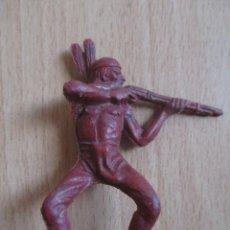 Figuras de Goma y PVC: FIGURA ANTIGUA INDIO OESTE , PIPERO ( PECH , JECSAN , REAMSA , COMANSI , ETC). Lote 267618139