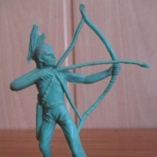 Figuras de Goma y PVC: FIGURA ANTIGUA INDIO OESTE , PIPERO ( PECH , JECSAN , REAMSA , COMANSI , ETC). Lote 267618609