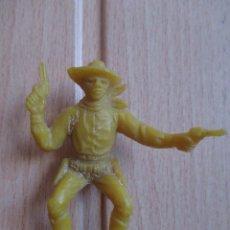 Figuras de Goma y PVC: FIGURA ANTIGUA VAQUERO OESTE , PIPERO ( PECH , JECSAN , REAMSA , COMANSI , ETC). Lote 267619124