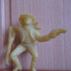 Figuras de Goma y PVC: FIGURA ANTIGUA VAQUERO OESTE , PIPERO ( PECH , JECSAN , REAMSA , COMANSI , ETC). Lote 267620019