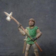 Figuras de Borracha e PVC: REAMSA CRUZADOS MEDIEVAL REF 117 GOMA. Lote 267668139