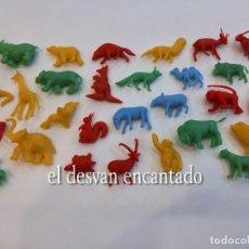 Figuras de Goma y PVC: LOTE 29 ANIMALES PROMOCIONES TIPO DUNKIN O SIMILAR. Lote 268035999