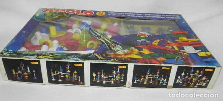 Figuras de Goma y PVC: CAJA APOLO IV CONSTRUCCIONES INTERPLANETARIAS FIGURAS DE ASTRONAUTAS, DE AIRGAM, AÑOS 6,0 CON SU CAJ - Foto 9 - 268586299