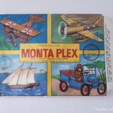 Figuras de Goma y PVC: SOBRE MONTAPLEX Nº405 MODELOS A ESCALA ABIERTO INCLUYE COLADAS MEDIOS DE TRANSPORTE FOKKER. Lote 268754104