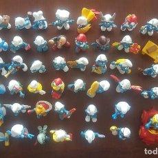 Figuras de Goma y PVC: GRAN LOTE DE 54 PITUFOS, SMURFEN. SCHLEICH, PEYO. Lote 268760409