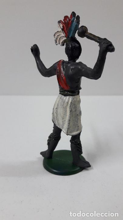 Figuras de Goma y PVC: GUERRERO AFRICANO . REALIZADO POR GAMA . SERIE GRANDE . AÑOS 50 EN GOMA - Foto 6 - 268764114