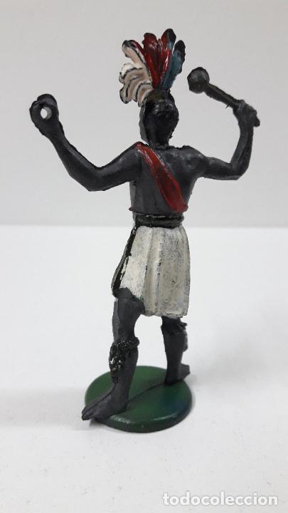 Figuras de Goma y PVC: GUERRERO AFRICANO . REALIZADO POR GAMA . SERIE GRANDE . AÑOS 50 EN GOMA - Foto 7 - 268764114