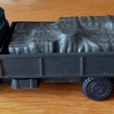 Figuras de Goma y PVC: JECSAN CASCOS AZULES CAMIÓN. Lote 268773109