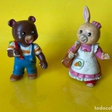 Figuras de Goma y PVC: BOBBY Y PATTY FIGURAS COMICS SPAIN DE LA ALDEA DEL ARCE. Lote 268844309