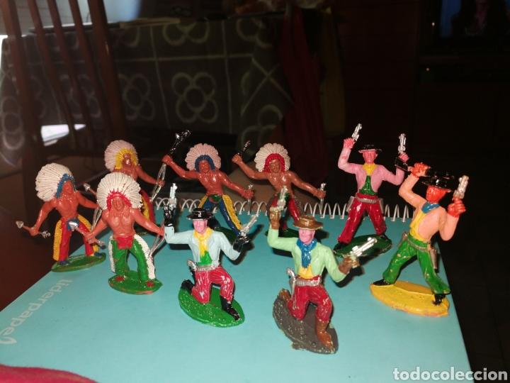 Figuras de Goma y PVC: 9 Figuras oeste SOTORRES - Foto 2 - 268861779