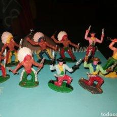 Figuras de Goma y PVC: 9 FIGURAS OESTE SOTORRES. Lote 268861779