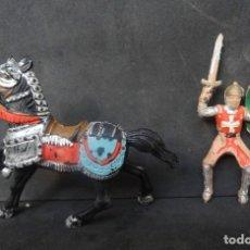 Figurines en Caoutchouc et PVC: REAMSA CRUZADOS MEDIEVAL A CABALLO REF 127. Lote 268870169