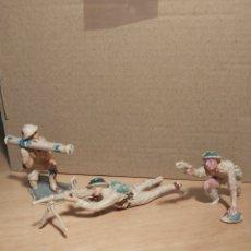 Figuras de Goma y PVC: PECH HERMANOS. 3 SOLDADOS INGLESES. NO JECSAN. NO REAMSA. LOTE 3.. Lote 268877239