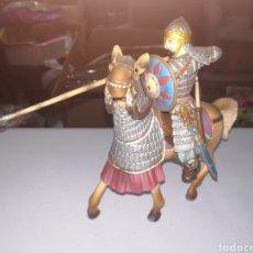 Figuras de Goma y PVC: GUERRERO SARRACENO A CABALLO FIGURA DE PVC SCHLEICH. Lote 268953119
