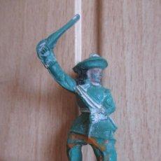 Figuras de Goma y PVC: FIGURA ANTIGUA GOMA 4,5 CM , GUERRA CROMWELL O SIMILAR ( PECH , JECSAN , REAMSA , COMANSI , ETC). Lote 268954919