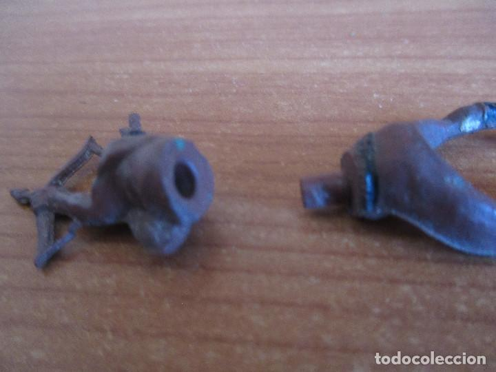 Figuras de Goma y PVC: FIGURA ANTIGUA INDIO OESTE EN GOMA , GAMA ( PECH , JECSAN , REAMSA , COMANSI , ETC) - Foto 3 - 268955694