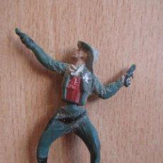 Figuras de Goma y PVC: FIGURA ANTIGUA GOMA SHERIFF OESTE , GAMA ( PECH , JECSAN , REAMSA , COMANSI , ETC). Lote 268955884