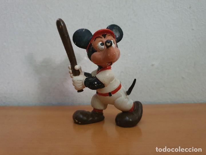 FIGURA PVC MICKEY MOUSE BASEBALL (Juguetes - Figuras de Goma y Pvc - Comics Spain)