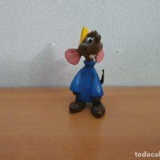 Figuras de Goma y PVC: FIGURA PVC RATÓN CENICIENTA. Lote 268958079