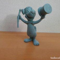 Figuras de Goma y PVC: FIGURA PVC HUCKLEBERRY HOUND SIN PINTAR. Lote 268958399