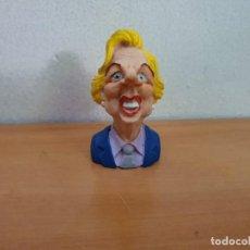 Figuras de Goma y PVC: FIGURA PVC BUSTO MARGARTH THATCHER. Lote 268958554