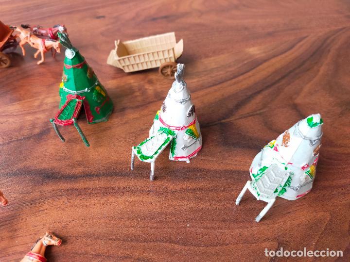 Figuras de Goma y PVC: LOTE MINIOESTE COMANSI - Foto 4 - 268980844