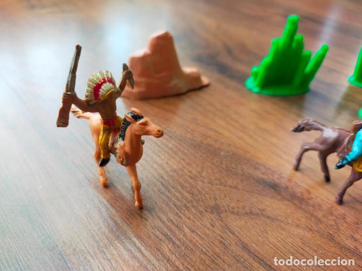 Figuras de Goma y PVC: LOTE MINIOESTE COMANSI - Foto 12 - 268980844