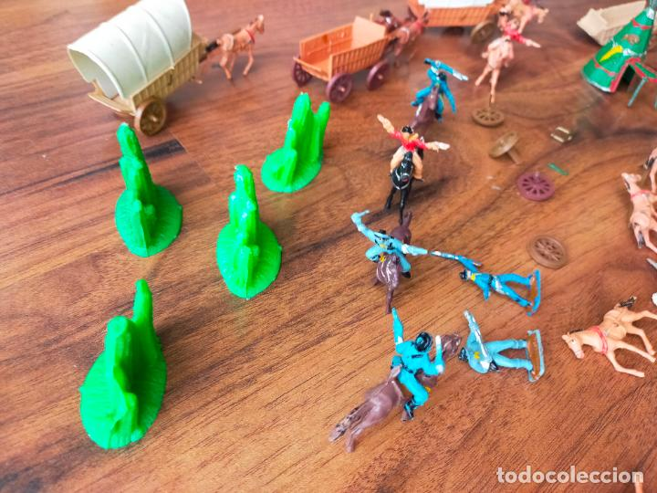 Figuras de Goma y PVC: LOTE MINIOESTE COMANSI - Foto 13 - 268980844