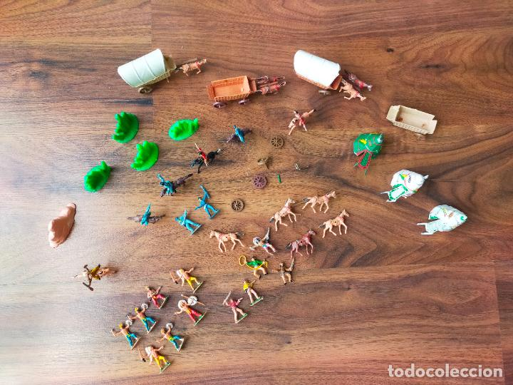 Figuras de Goma y PVC: LOTE MINIOESTE COMANSI - Foto 14 - 268980844